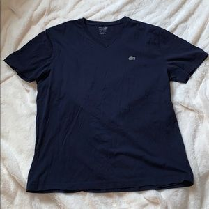 LACOSTE Navy T-Shirt